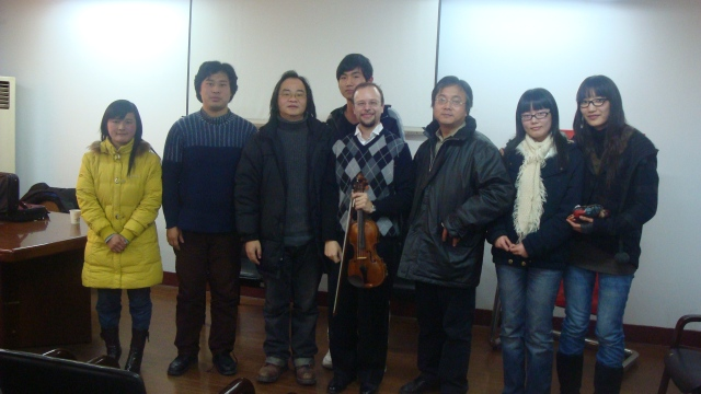 JH, after Masterclass at Suchou Science and Technology Institute, China
