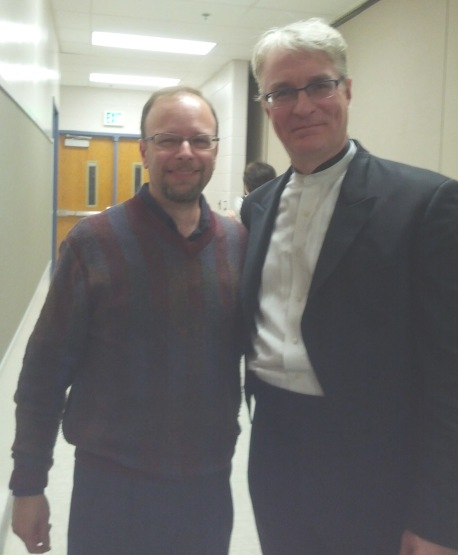 Jeff with Jonathan Carney, BSO concertmaster, Oct. 2014 c